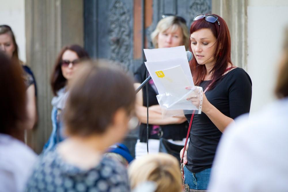 Literatura v ulicích - Kateřina Tučková stezkou brněnských příběhů