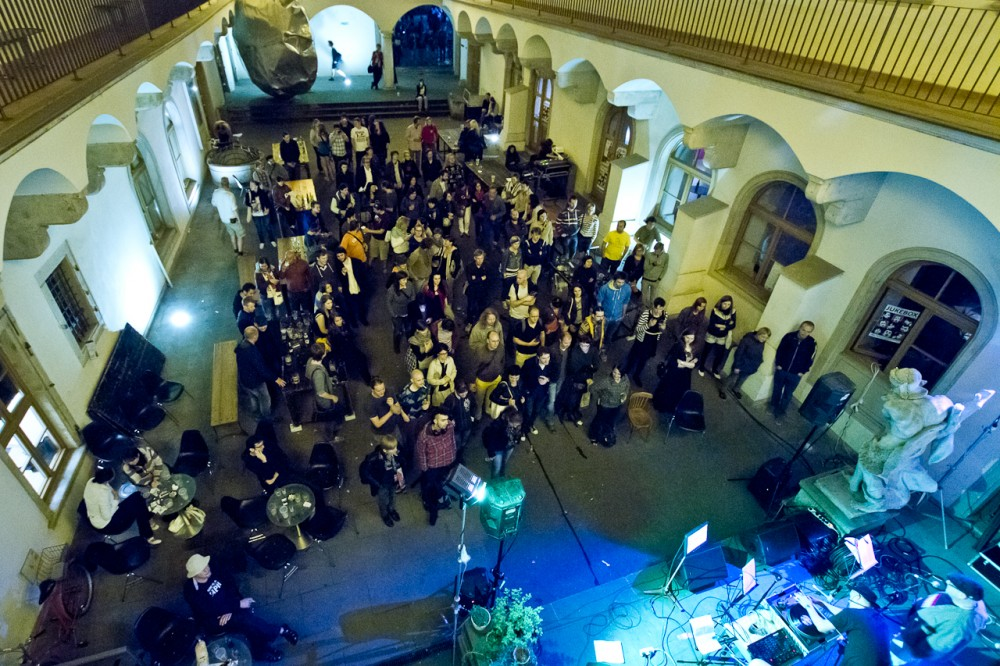 Literatura a decibely - koncert skupiny Vítrholc a křest almanachu