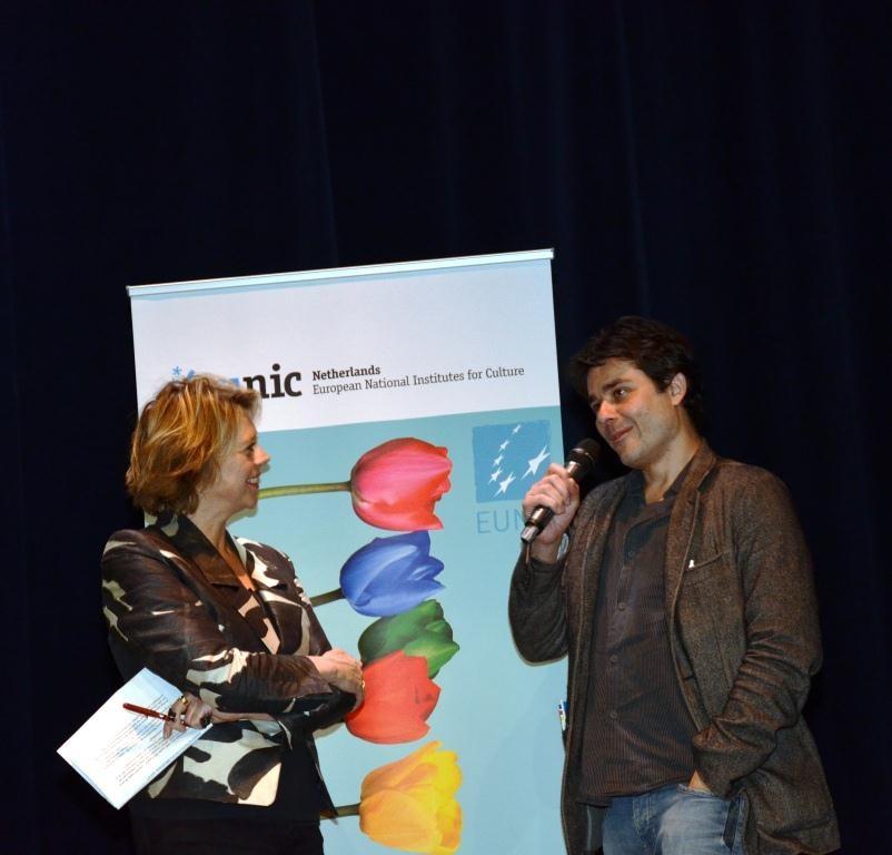 Margot Dijkgraaf and Laurent Binet